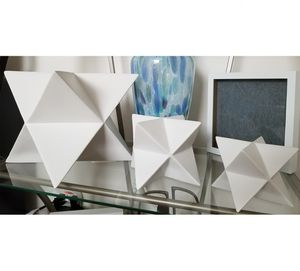 3 West Elm Star Accent Sculpture Objects for Sale in Cape Coral, FL