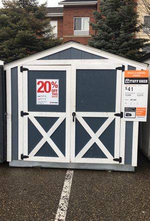 Tuffshed 8x 10 free delivery $2114 for Sale in Fenton, MI