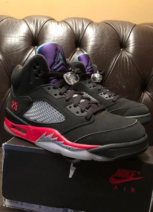 Grape fire Red Jordan 5s - size 9 USED for Sale in New Haven, CT