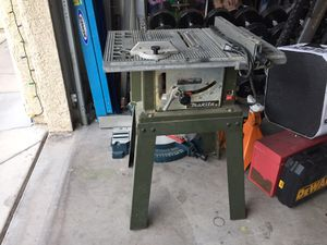 Mikita table saw for Sale in Newport Beach, CA