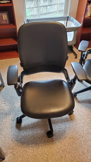 Leap V2 office chair leather for Sale in Houston, TX