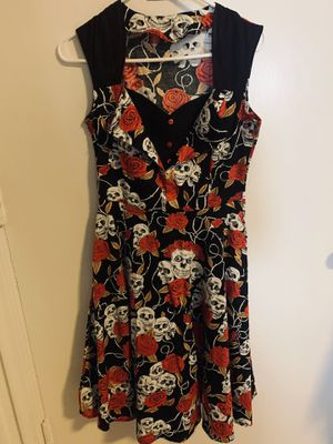 Pin Up Doll Skull Dress S/M for Sale in Fremont, CA
