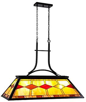 Pool Table Light, Billiard Hanging Lighting Fixture for Game Room 7-9 FeetTable, 3 Lights Kitchen Island Chande for Sale in Fullerton, CA
