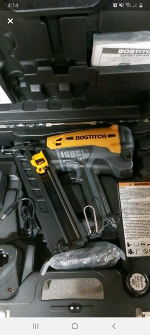 Bostitch cordless finish nailer for Sale in NO HUNTINGDON, PA