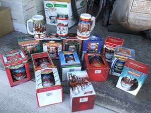 Budweiser Holiday Steins for Sale in Vancouver, WA