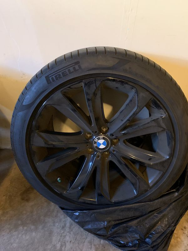 Tire and Wheel Package: BMW 2017 X5!