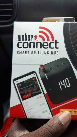 Weber Connect Smart Grilling Hub for Sale in Tacoma, WA