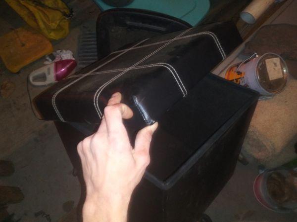 Footstool ordament box