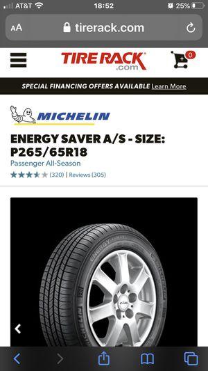 3 2018 Michelin energy saver A/S for Sale in Dowagiac, MI