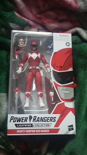 POWER RANGERS LIGHTNING COLLECTION RED RANGER ACTION FIGURE for Sale in Hawthorne, CA