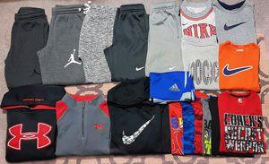 Boys size 6/7 Nike, Jordan and UA clothing lot. for Sale in Wichita, KS