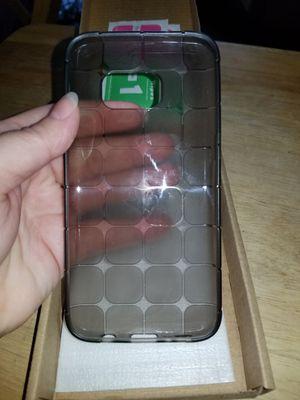 Galaxy S7 rubber case with 2 glass screen protectors for Sale in Boyce, LA