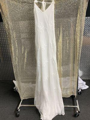 White Dress Size Medium Brand New Weddings Dress Engagement Dress for Sale in Norwalk, CA