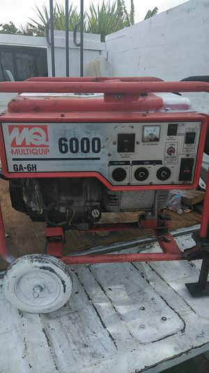 Gas Generator 120/240v for Sale in San Diego, CA