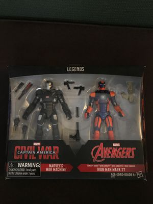 Marvel legends avengers iron man and war machine mcu two pack for Sale in El Monte, CA