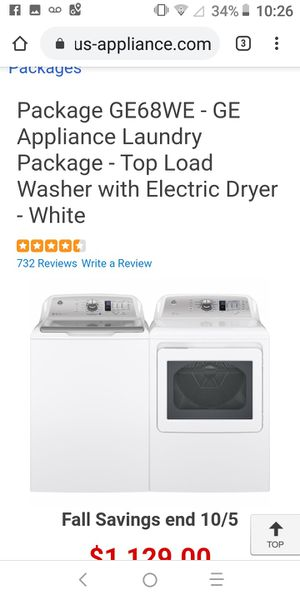 New washer and Dryer for Sale in Jacksonville, FL
