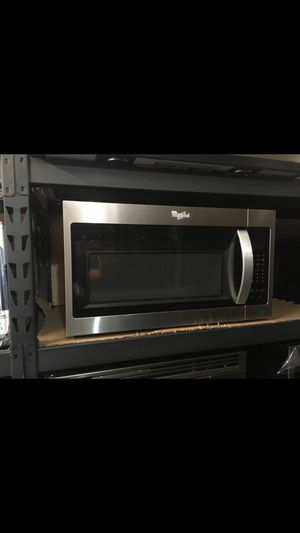 NEW!!! WHIRLPOOL (STAINLESS STEEL) OVER THE RANGE MICROWAVE!!! for Sale in Los Angeles, CA