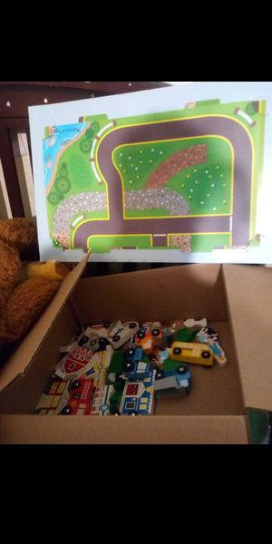 Train table pieces brand new out of box $20 or best offer for Sale in Fresno, CA