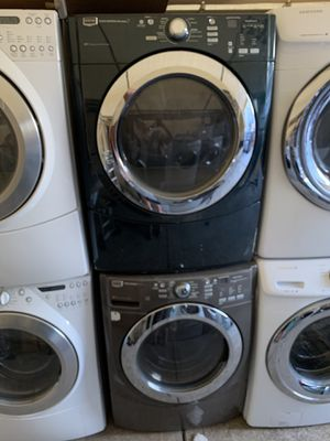 Front load electric washer and dryer maytag with 3 months warranty free Delivery installation for Sale in Oakland, CA