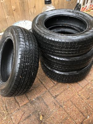"""Slightly Used Road Hugger"""" Tires P185/65 R15 for Sale in Spring, TX"""