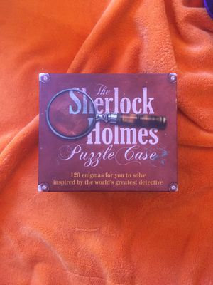 Sherlock Holmes Puzzle Case 1-6 player game. for Sale in La Mirada, CA