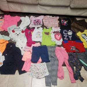 LOT OVER 100 BABY CLOTHES TOPS BIBS BLANKETS PANTS DRESSES HOODIES JACKETS SOCKS for Sale in Washington, PA