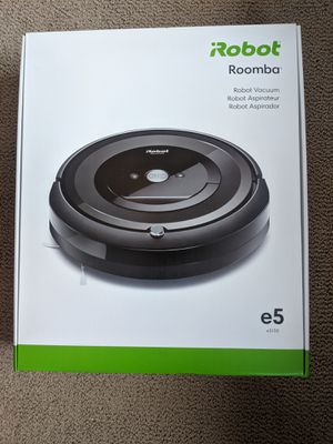 Brand New iRobot Roomba E5 Robot Vacuum Never Used or Opened for Sale in Orange, CA