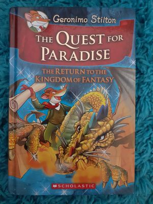 Geronimo Stilton The Quest for Paradise for Sale in Lawrenceville, GA