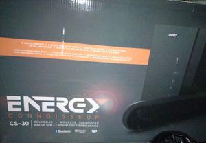 ENERGY CS-30 SOUNDBAR - BLUETOOTH for Sale in Modesto, CA