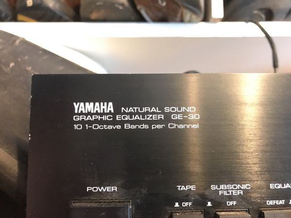 Yamaha Graphic Equalizer GE- 30 for Sale in Aurora, OH - OfferUp