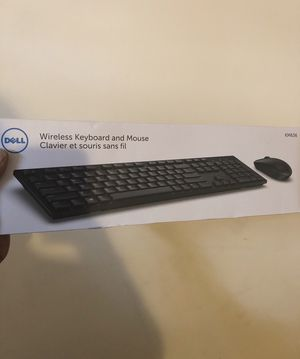 """""""Dell"""" Wireless Keyboard And Mouse for Sale in Washington, DC"""