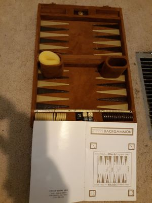 Aries Backgammon Set for Sale in Cypress, TX