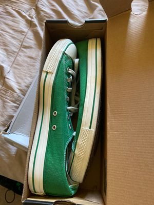 Green chuck Taylor converse size 12 for Sale in Renton, WA