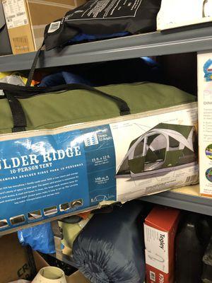 Boulder ridge tent. Sleeps 10 comfortably for Sale in Kent, OH