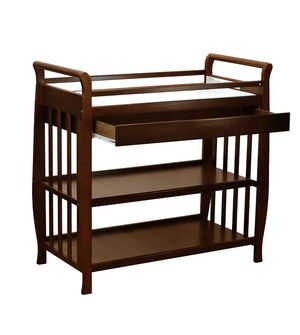 Espresso changing table for Sale in Glen Burnie, MD