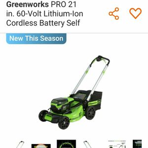 Lawn Mower Cordless for Sale in Nellis Air Force Base, NV