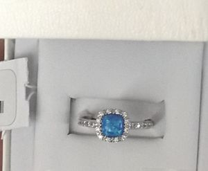 Beautiful Blue opal ring new with tags for Sale in Payson, AZ