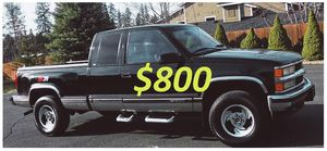 🍁1998 CHEVROLET SILVERADO TU/UP FOR SALE * ZERO ISSUES > RUNS AND DRIVES LIKE NEW!- $800 for Sale in Little Rock, AR