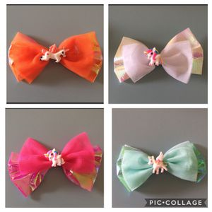 Lot of Unicorn Bow Hair Clips for Sale in San Diego, CA