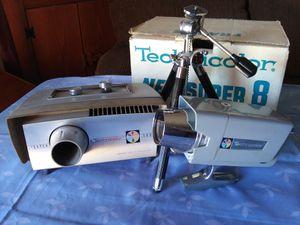 Technicolor Mark Ten Super8 Camera/580 Projector for Sale in Phoenix, AZ
