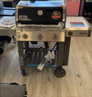 WEBER 66011001 GENESIS II NATURAL GAS BBQ DJN T for Sale in Hesperia, CA