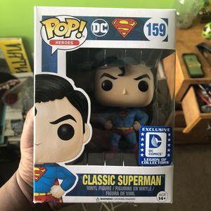 Classic Superman Funko pop for Sale in Orange Park, FL