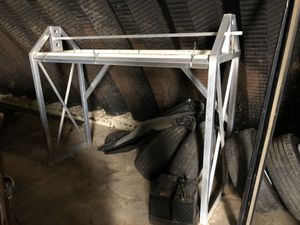 Aluminum trailer - wheel / tire rack for Sale in Elgin, IL