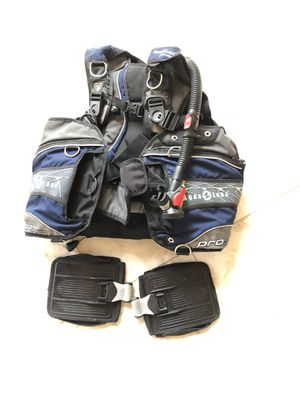 High quality Scuba BCD Aqualung proQD, Size L for men for Sale in League City, TX