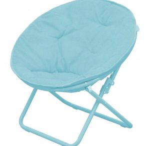 New kids teal saucer chair for Sale in Chicago, IL