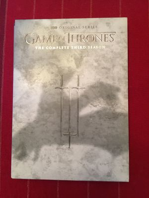 Game of thrones editions 3, 4 and 6 for Sale in Yuma, AZ