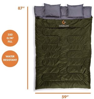 Backpacking Double Sleeping Bag for Sale in Fort Lauderdale, FL