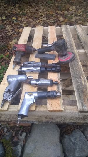 Air tools-Sander, Drill, Grinder 1\2inch & 3\8 the inch drives, for Sale in Port Orchard, WA