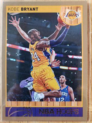 Gold Kobe Bryant Lakers NBA basketball card for Sale in Gresham, OR