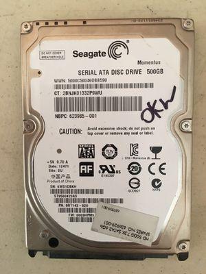 Laptop hard drive 500GB $ 25 for Sale in Miami, FL